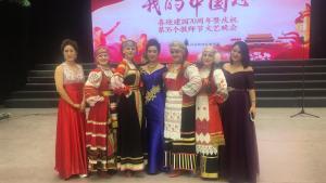 Студенты ДальГАУ в Китае спели «Катюшу» и рассказали о родном университете